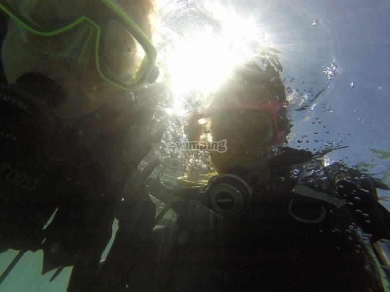 Descubriendo el buceo