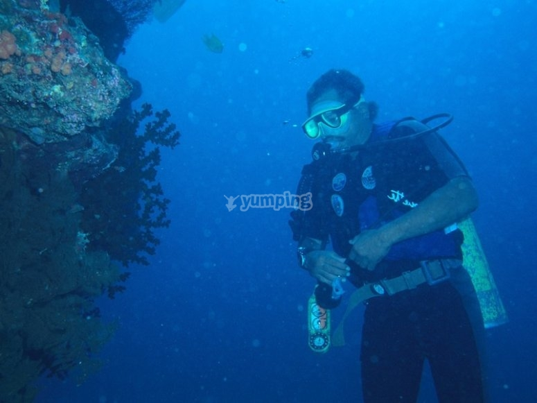 Inmersion de buceo