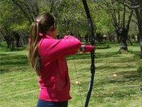 Practica tiro con arco en León