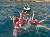Chapuzón en la excursión de motos de agua