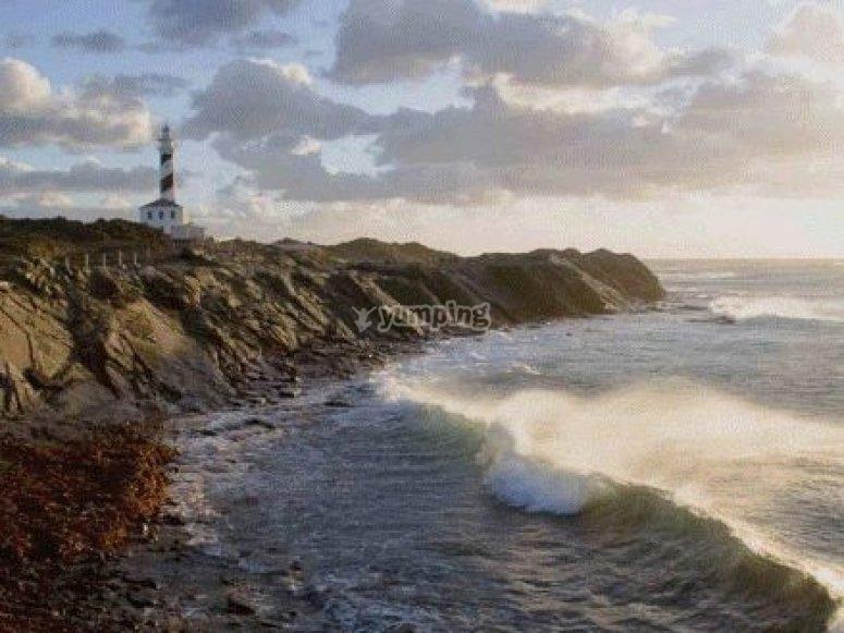 Entorno inmejorable, en Menorca
