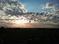 Paseo en globo al amanecer