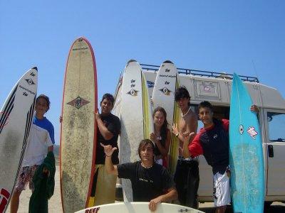 Clase de surf nivel medio 2h 30' Playa del Orzán