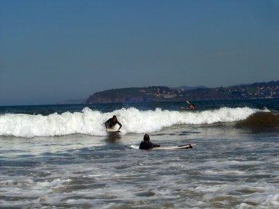 Clase de surf nivel avanzado playa de Lozán 2h 30m