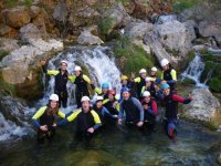 Canyoning in Cazorla