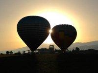Paseo en globo en la Cerdanya