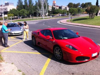 Couples activity: driving a Ferrari and flotarium