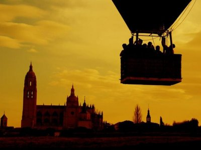 Balloon Ride in Salamanca + video HD