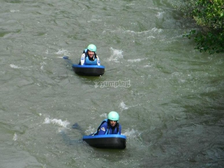 Riverboarding in Cantabria