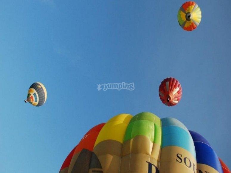 Sobrevolando Salamanca