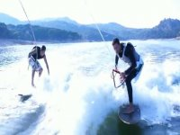 Double wakeboard