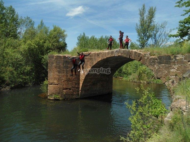 Puente en el río