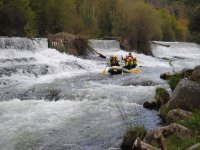 Descent of rafting