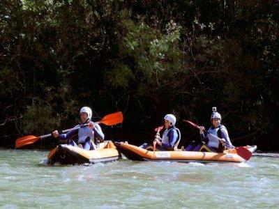 Canorafting Alto Ebro. 9 km - 3,5 horas
