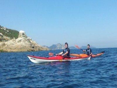 3小时在Nigrán的皮划艇路线
