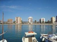 Costa de Azahar港口的船