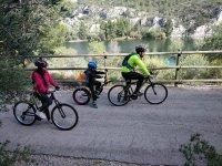 Bicicleta con los niños
