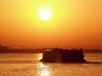 Puesta de sol en el Mar Menor