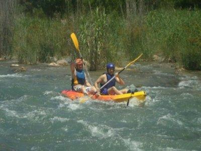 Descenso en canoa + ruta en quad, para escolares