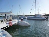 Impara a navigare in un catamarano