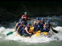 Rafting en el Pirineo Oscense