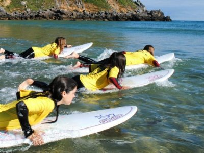 5-day surf course in Berria Beach