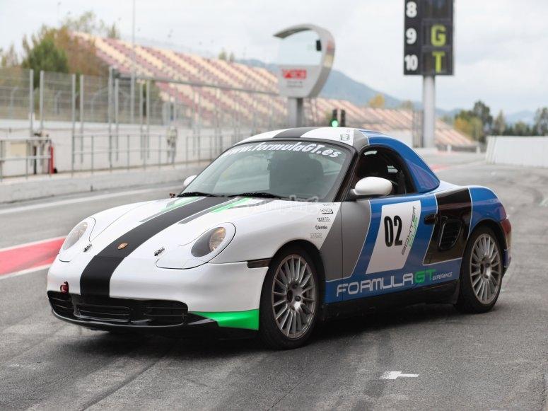 Una vuelta en Porsche Boxster