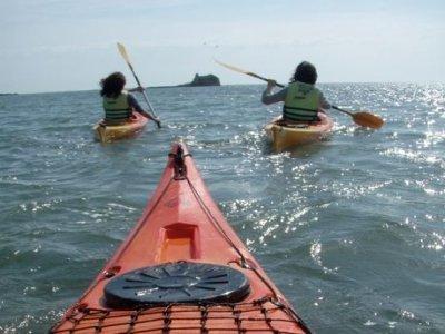 Percorso Gola de Migjorn in kayak + barbecue