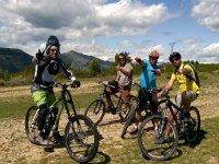 logoraid你的自行车强烈的绿色景观