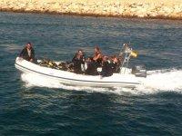 Pack 4 inmersiones desde barco o playa L'Ametlla
