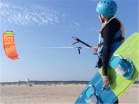 Controling the kite with one hand