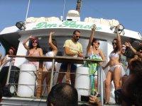 Musica en directo en el barco