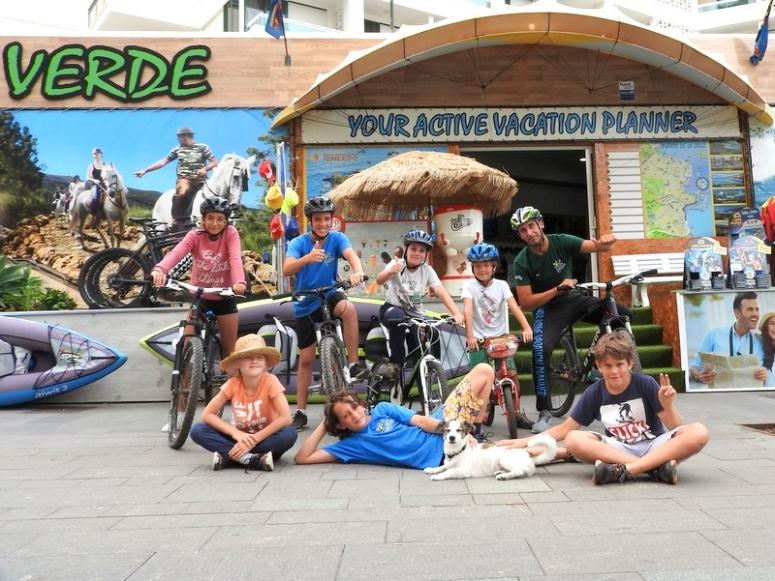 Campamento en Tenerife