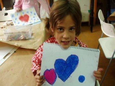 儿童4种绘画和工艺品的Bono