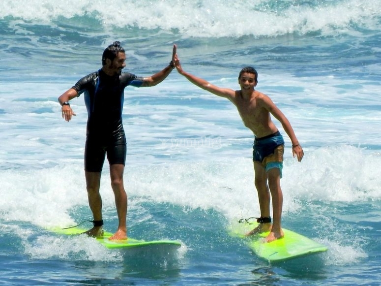 Surf nel campo