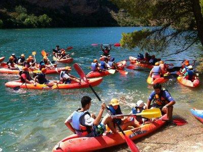 Campamento aventura inglés 7 días junio Guadamejud