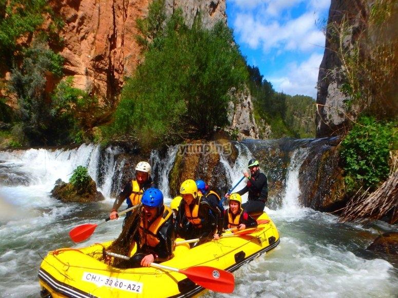 Il miglior rafting nella Comunità Valenciana