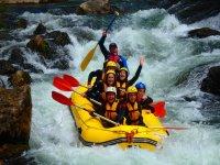Descenso de rafting en Montanejos, medio día