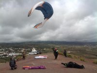 Paragliding practice sessions