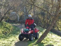 Practice the fun driving of the quads