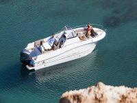 Paseo en barco y snorkel  con aperitivo 4h Dénia
