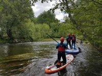 ruta de paddle surf por rio agueda