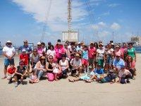 Grupo de turismo familiar