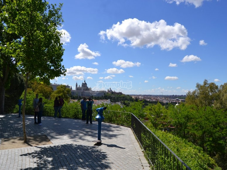 Viewpoint at Debod's Temple
