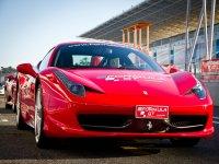Conducir Ferrari F430 en circuito de Huelva