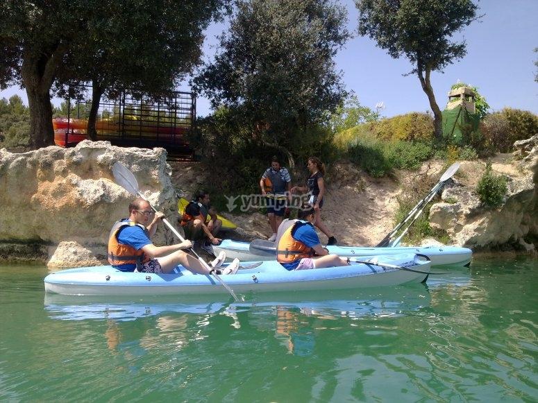 Kayak a Ruidera