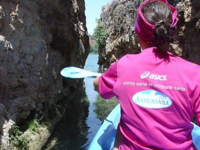 Ruta en Kayak, las Lagunas de Ruidera 2h 30min