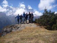 Senderismo en las montañas más altas