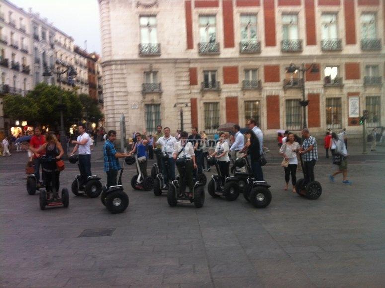 Recorre Madrid en segway
