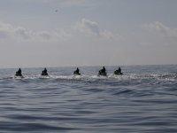Partenza verso le isole Medes con il jet ski